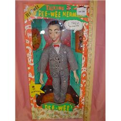 Pee Wee Herman Talking Doll by Matchbox