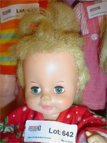 horsman doll dating Horsman vintage vinyl baby doll, cloth body, 18, dated 1967 - $899 this is a darling vintage vinyl, horsman baby doll, 18, cloth body, good sleep eyes that open and.