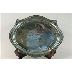 Silver Plate Tray, Barclay New York