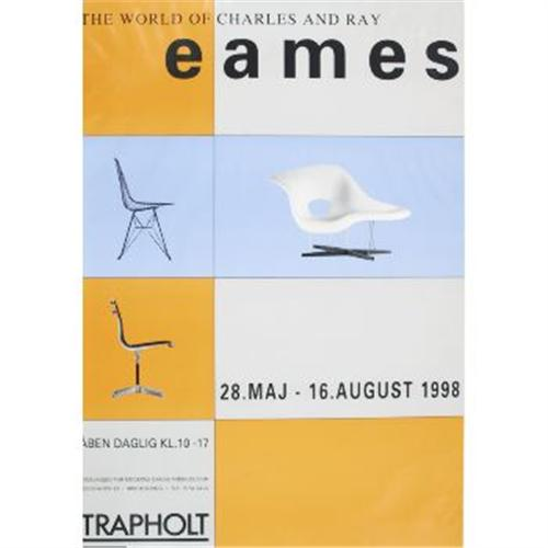 Eames Furniture Poster - 1 piece