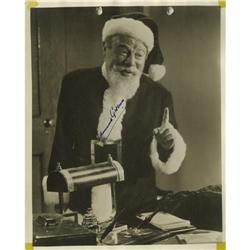 "Edmund Gwenn Signed ""Miracle on 34th Street"" Pho Edmund Gwenn Signed ""Miracle on 34th Street"" Photo."