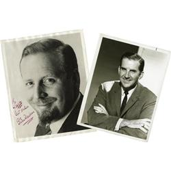 Ed McMahon and Skitch Henderson Autographs. Ed McMahon and Skitch Henderson Autographs.