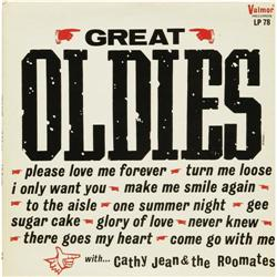 """Cathy Jean & the Roomates """"Great Oldies"""" Mono LP Cathy Jean & the Roomates """"Great Oldies"""" Mono LP Va"""