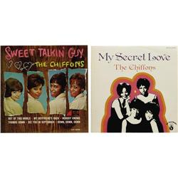 Chiffons LP Group of 2 (1966-70). The sweet-sing Chiffons LP Group of 2 (1966-70).