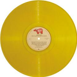 """Eric Clapton """"Backless"""" Yellow Vinyl Stereo LP R Eric Clapton """"Backless"""" Yellow Vinyl Stereo LP RSO"""