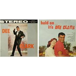 """Dee Clark and """"Hold On...It's Dee Clark"""" Stere """"Dee Clark"""" and """"Hold On...It's Dee Clark"""" Stereo LP"""