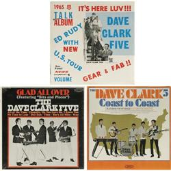Dave Clark Five Mono LP Group of 3 (1964-65). Th Dave Clark Five Mono LP Group of 3 (1964-65).