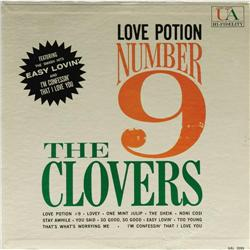 """Clovers """"Love Potion Number 9"""" Mono LP United Ar Clovers """"Love Potion Number 9"""" Mono LP United Artis"""