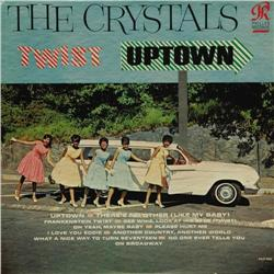 """The Crystals Twist Uptown Mono LP Philles 4000 """"The Crystals Twist Uptown"""" Mono LP Philles 4000 (196"""