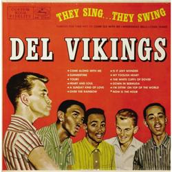 """Del Vikings """"They Sing... They Swing"""" Mono LP Me Del Vikings """"They Sing... They Swing"""" Mono LP Mercu"""