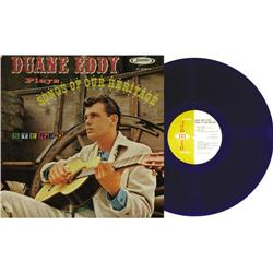 """Duane Eddy Plays Songs Of Our Heritage Blue Vi """"Duane Eddy Plays Songs Of Our Heritage"""" Blue Vinyl S"""