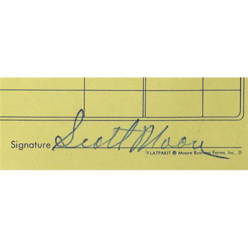 Sam Phillips Recording Studio Invoice Copy Signe Sam Phillips - Recording studio invoice