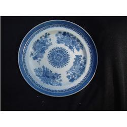 18th. century Chinese export  porcelain plate #865806
