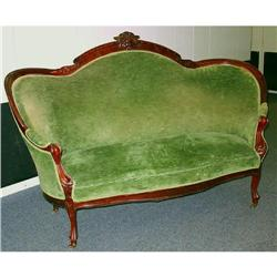 Victorian Settee and Chairs #865883