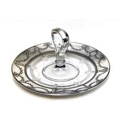 Sterling Silver Overlay Lazy Susan Tray #865890