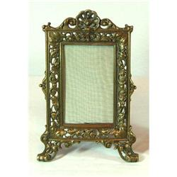Heavy bronze picture frame #865897