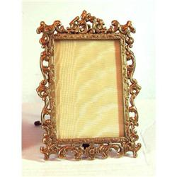 Bronze Dore Picture Frame with Easel back #865899