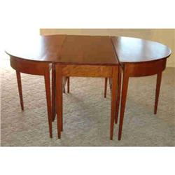 """D"" End Dining Table. C1930 #865919"