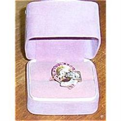 LADY'S FINE GEMSTONE COCKTAIL RING #865922