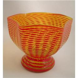Stevens & Williams Art Glass Footed Bowl #865962