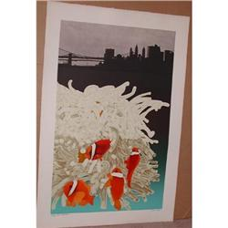Michael Knigin, East River Dance, Signed Litho #866035