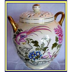 WEDGWOOD POTPOURRI 11 1/2INCHES HP CHINESE DE #866173
