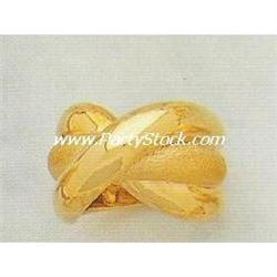 RICH & HEAVY! 14K SOLID YELLOW GOLD RING 13.8 GRA