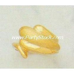 HEAVY! 14K SOLID YELLOW GOLD BIG SNAKE RING 5.1 G