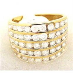 10K GOLD & 2CTW GENUINE DIAMOND RING..CLOSE OUT S