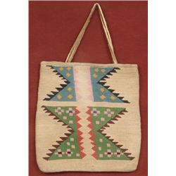 Nez Perce Cornhusk Bag.