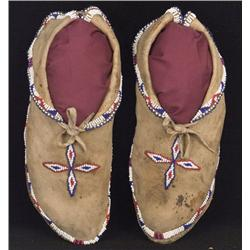 Osage Indian Moccasins