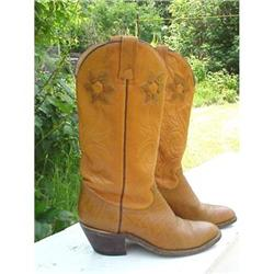 Ladies Leather Western Boots #859457