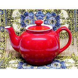 Crimson Red - Sadler -  TEA POT #859467