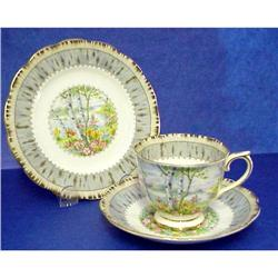 Royal Albert Plate & Cup & Saucer Trio #859470