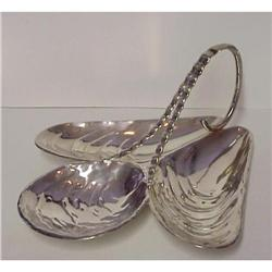 Figural Silver Plated Serving Dish #859473