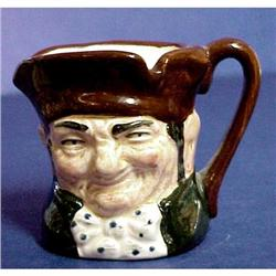 Royal Doulton TINY Toby Jug OLD CHARLEY D6046 #859492