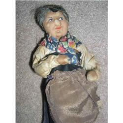 Ravca  old woman with Made in France tag #859511