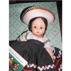1967 Madame Alexander Mexican Bent Knee Doll #859515