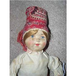 "12"" Stockinette Russian Doll- cloth tag #859517"