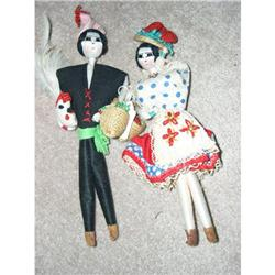 Cloth Portugese Woman and Man wrapped  #859535