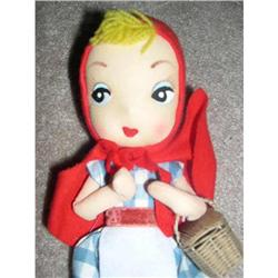 Little Red Riding Hood Bendable Doll - nylon #859541