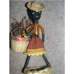 Black doll made in Venezuela tagged #859544