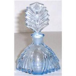 New Martinsville Glass Art Deco Perfume Bottle  #859712