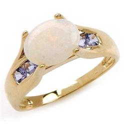 Opal and Tanzanite Ring #859914