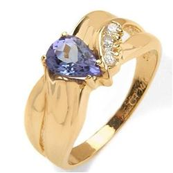 Tanzanite  and Diamond Ring #859916
