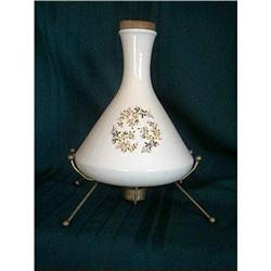 Retro Pottery Bottle on Stand #860507