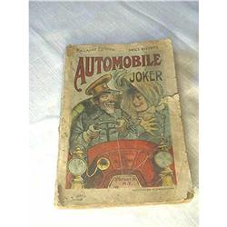 Automobile Joker Book Railroad Edition #860509