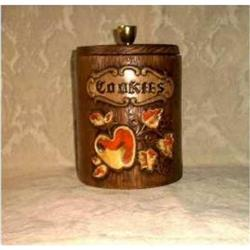 Cookie Jar Treasure Craft Apple Design #860525