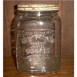 Glass Coffee Jar #860526