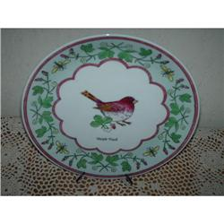 Purple Finch  Collector Plate #860527